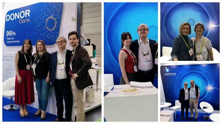 IAKENTRO ha completato con successo la sua presenza al 35 ° Congresso Internazionale di ESHRE